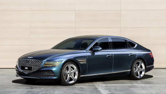 2021 Genesis G80 First Photos