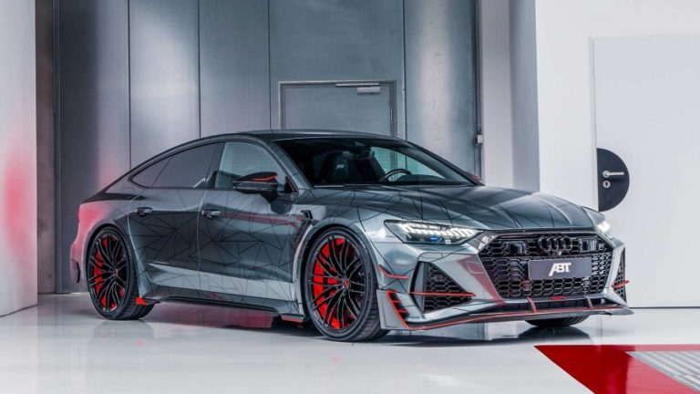 ABT introduces the new RS7-R model with 730 horsepower