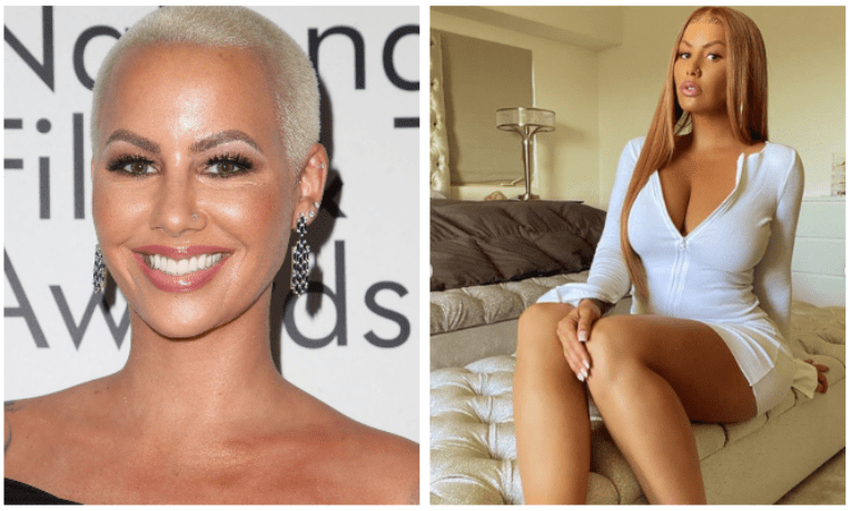 Unbelievable! The Drastic change of Amber Rose (Photo)