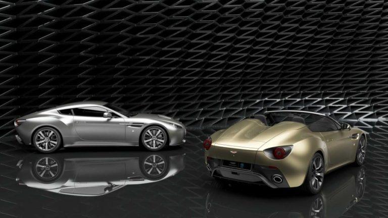 Aston Martin Vantage V12 Zagato Heritage Twins Revealed