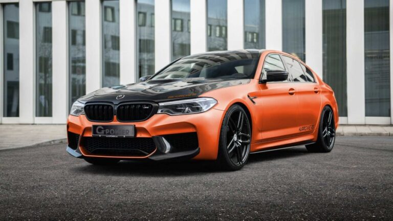 G-Power introduces 'Hurricane RS', a BMW M5 with 829 HP