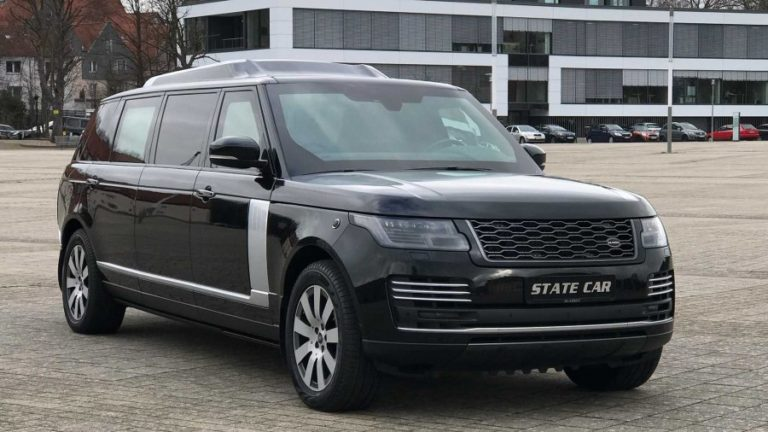Land Rover Range Rover Autobiography, turned into a super luxurious bulletproof limousine