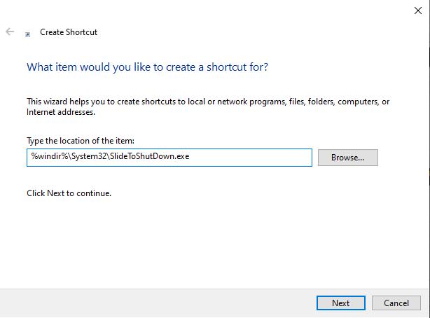 Enable Slide To ShutDown: Paste the code