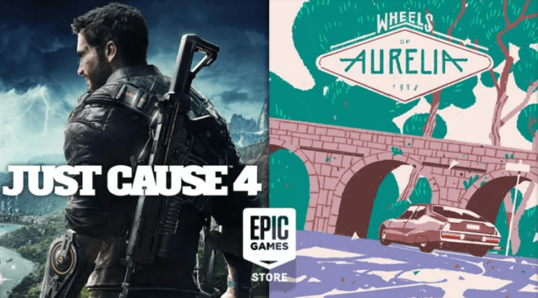Just Cause 4 and Wheels of Aurelia free this week at the Epic Game Store