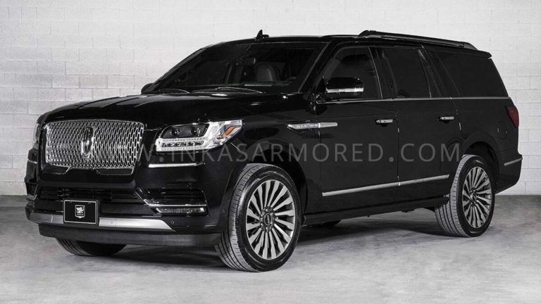 Lincoln Navigator L fully armored, without losing its Luxury appearance