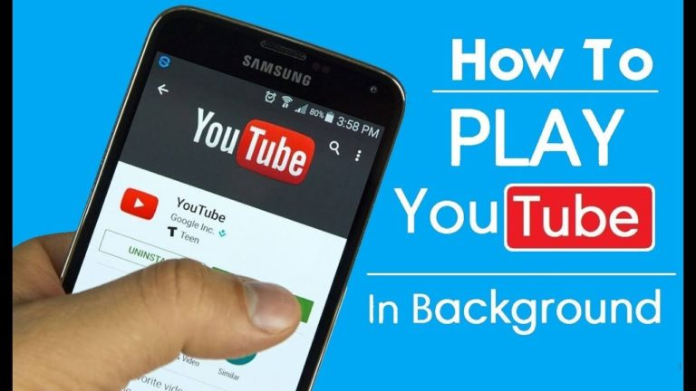 How to play YouTube in Background (Android & iOS)