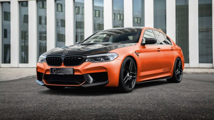 bmw m5 hurricane rs by g power 1