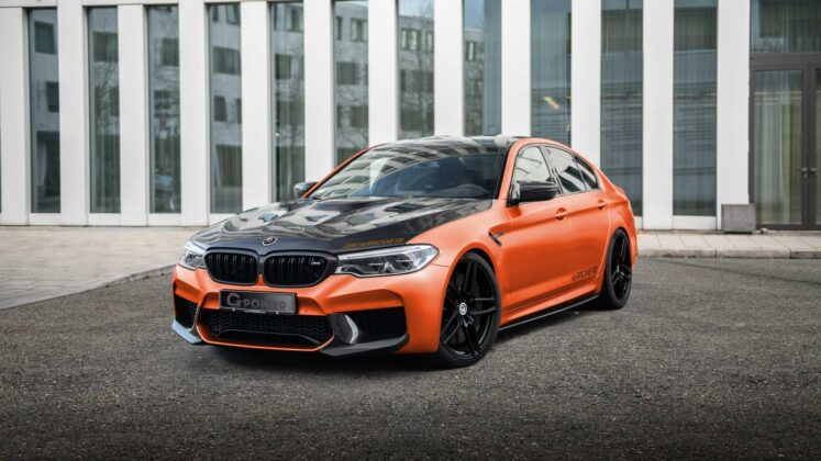 bmw m5 hurricane rs by g power 3