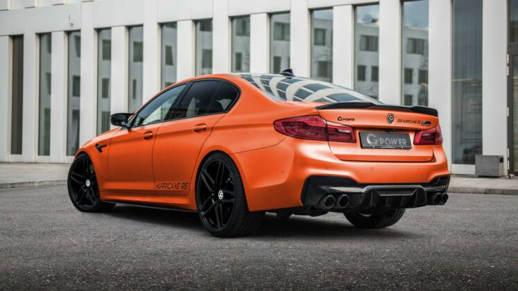 bmw m5 hurricane rs by g power 5