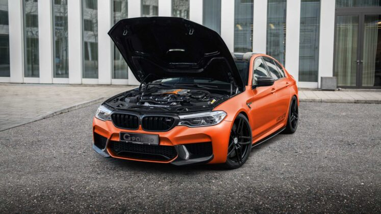 bmw m5 hurricane rs by g power 8