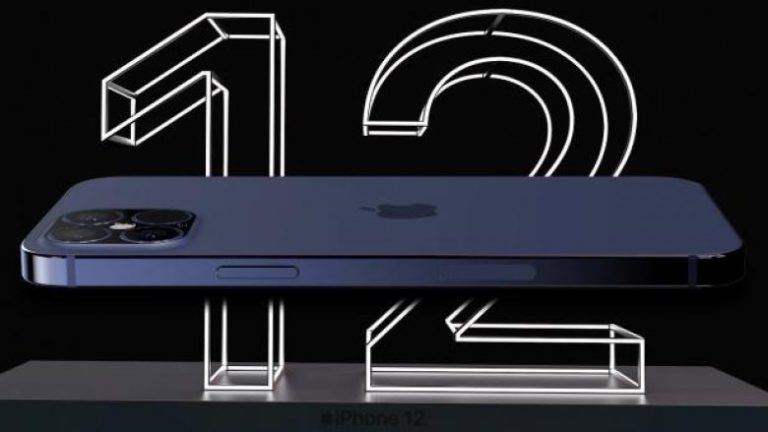 iPhone 12 Video Render, it shows flat sides and less screen frames