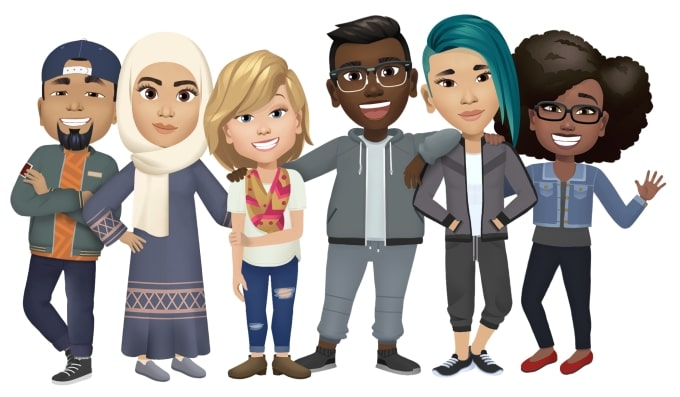 Facebook brings the opportunity to react through your avatar