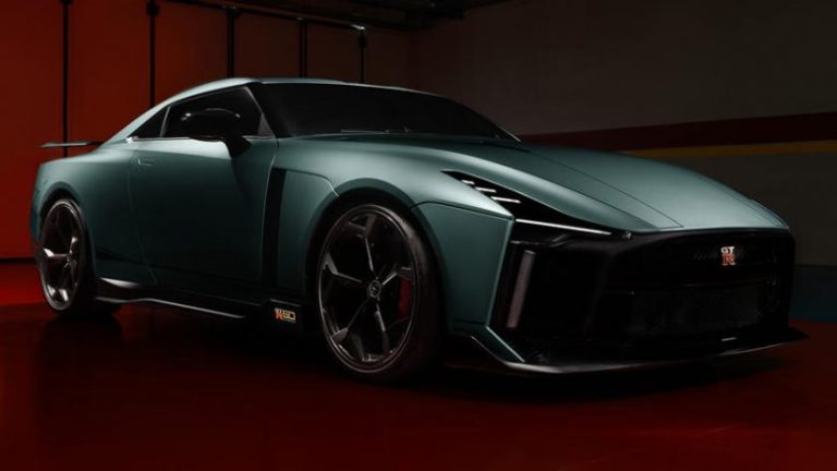 Nissan GT-R 50 by Italdesign finally appears