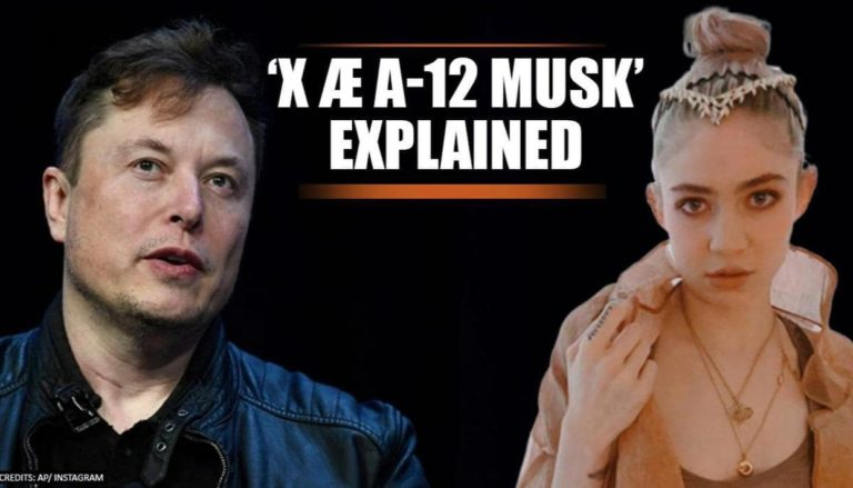 X Æ A-12 Musk: Here's what Elon Musk baby's name means and how to pronounce
