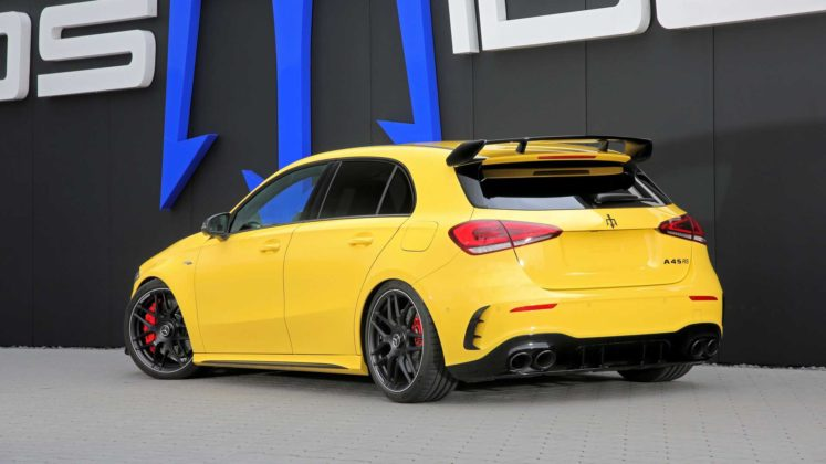 posaidon mercedes amg a45 with 518 hp 1