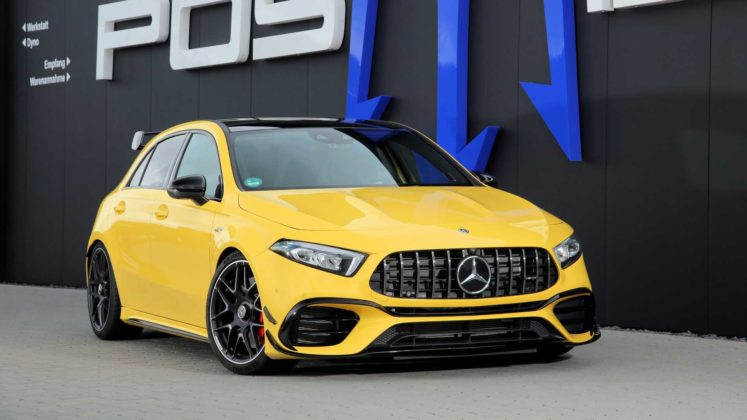 posaidon mercedes amg a45 with 518 hp