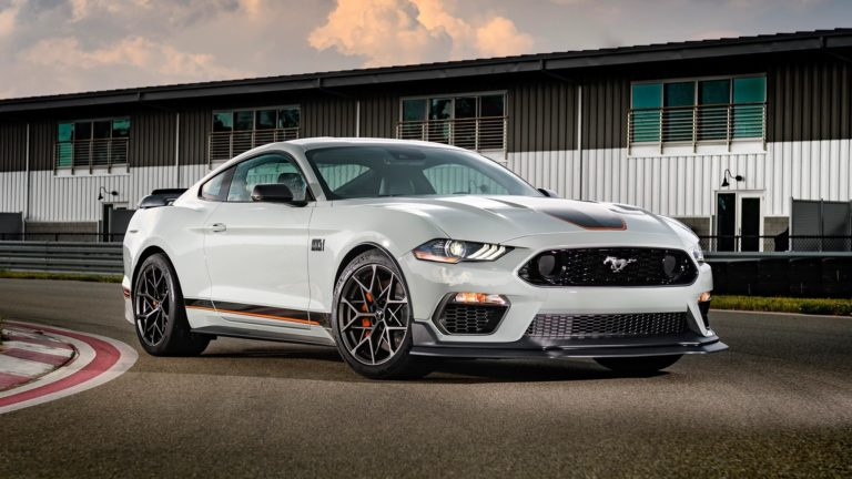 Ford brings back Mustang Mach 1 5.0L V8