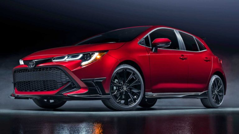 The impressive look of 2021 Toyota Corolla Special Edition