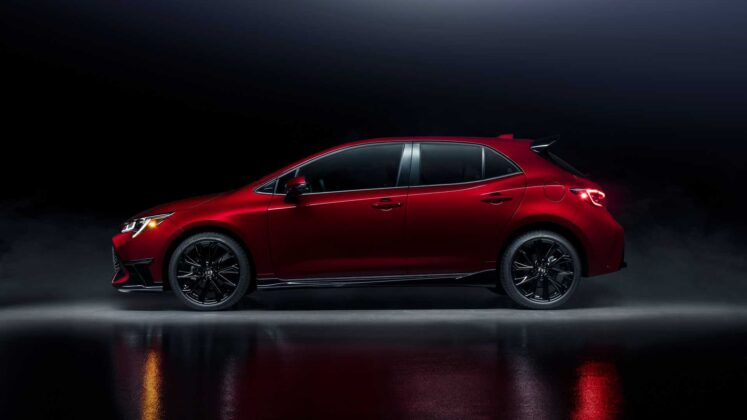 2021 toyota corolla hatchback special edition 1