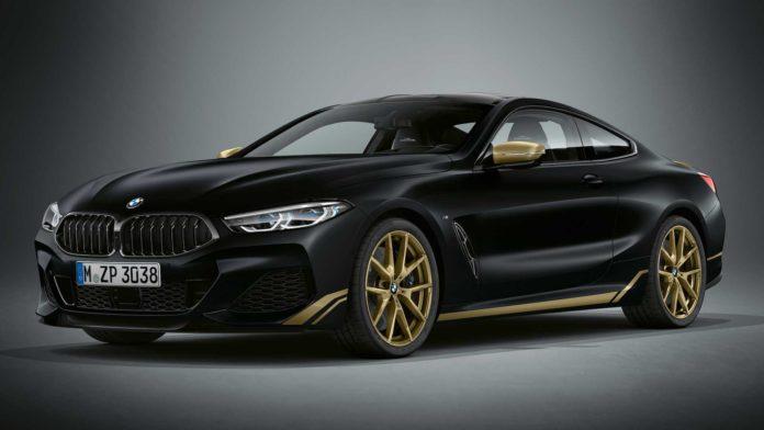 BMW 8 Series Golden Thunder Edition