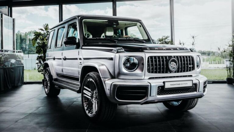 "Mercedes-AMG G63 in new ""Yachting"" edition, inspired by luxury yachts"