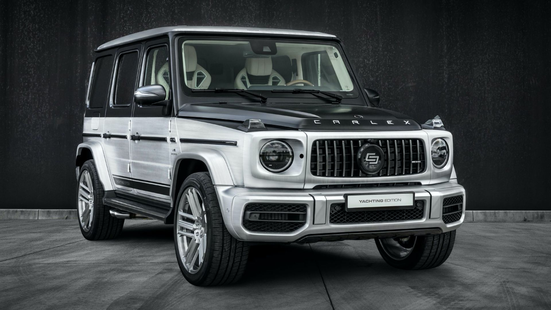 """mercedes-amg g63 in new """"yachting"""" edition, inspired"""
