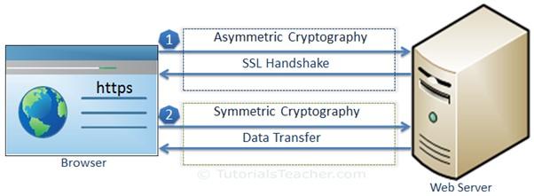 SSL data transfer