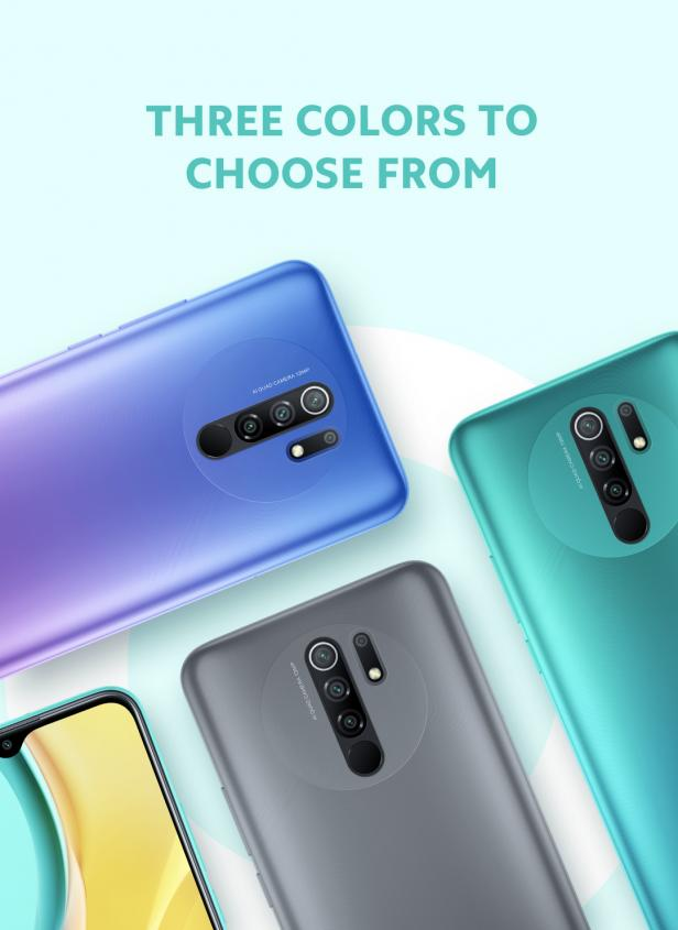 Xiaomi Redmi 9 Color Variants