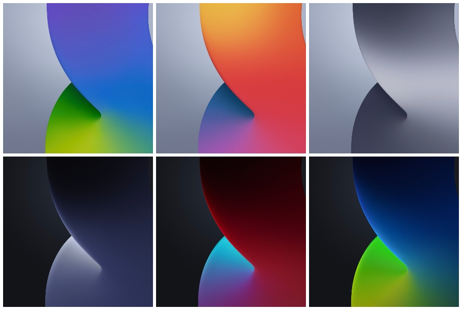 iOS 14 wallpapers Preview