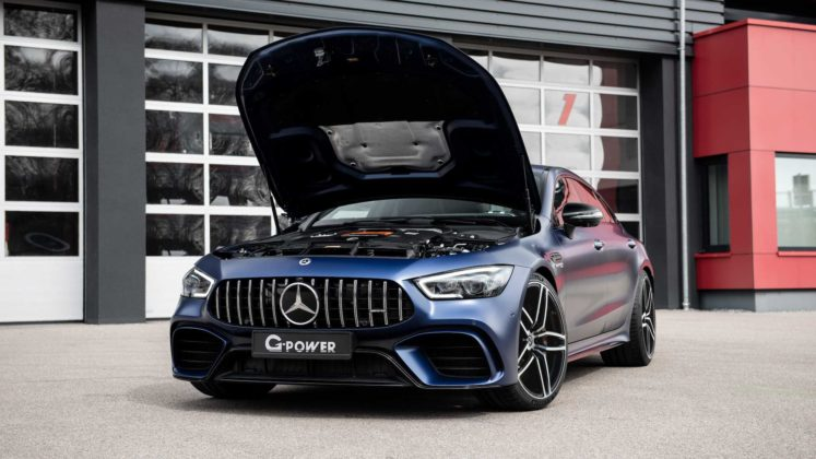 mercedes amg gt 63 upgrade by g power 1