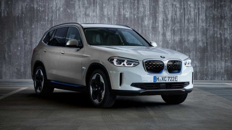 2021 BMW iX3 Electric SUV Revealed With 282 HP