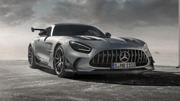 2021 Mercedes-AMG GT Black Series: A new racing car that you can also drive on public roads