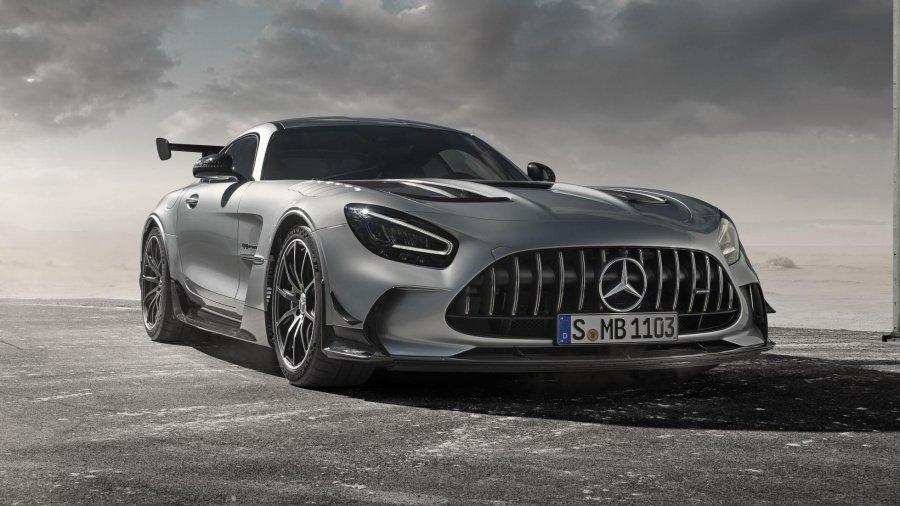 2021 Mercedes AMG GT Black