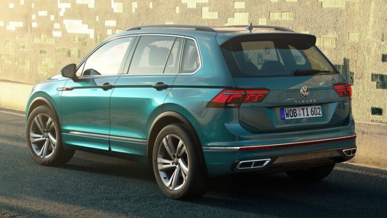 2022 Volkswagen Tiguan arrives with updates in design and technology