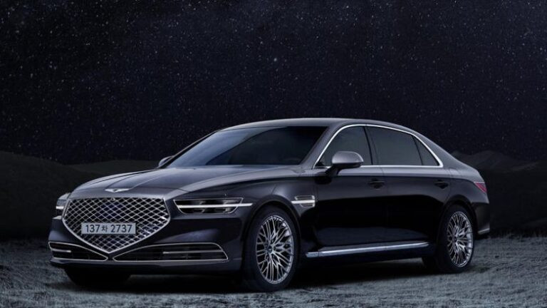 Genesis G90 Stardust Edition sends the elegance to another level