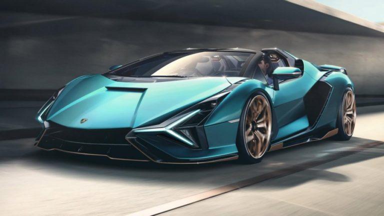 Meet the Lamborghini Sián Roadster