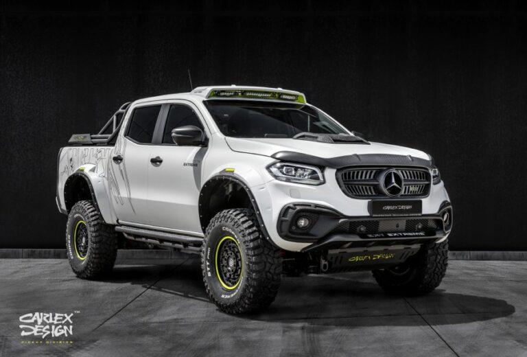 "EXY Extreme+: The X-Class ""Extreme"" of Mercedes"