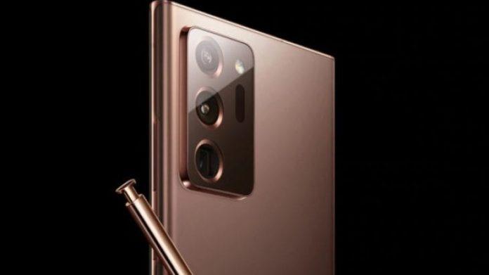 Samsung Galaxy Note 20 Bronze