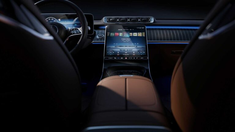 The interior of the 2021 Mercedes-Benz S-Class, a super miracle