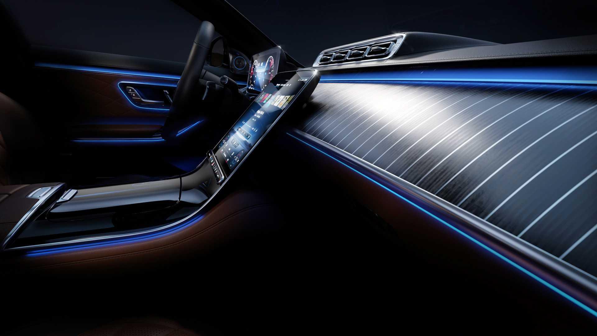 2021 mercedes benz s class ambient lighting 1