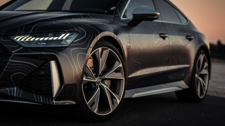 This is an Audi RS7 with 962 horsepower by Black Box-Richter
