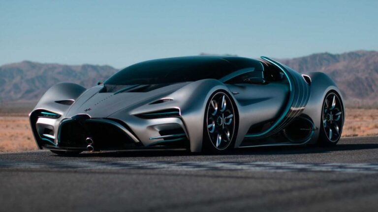 Hyperion XP-1 Hydrogen Supercar Reaches 100km/h in 2.2 seconds