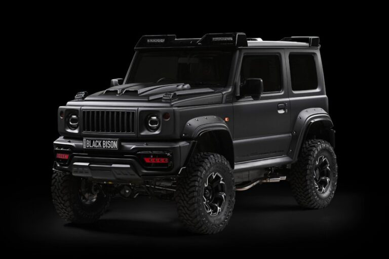 Jimny Black Bison, The small G-Class
