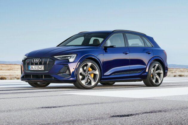 2021 Audi e tron S 8