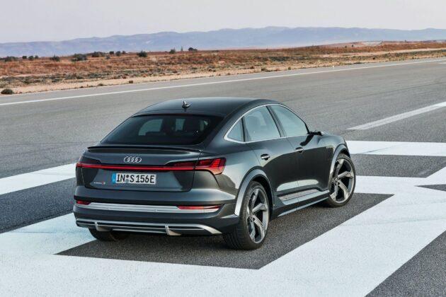 2021 Audi e tron S Sportback 3