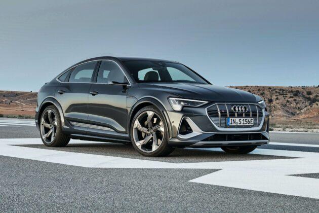 2021 Audi e tron S Sportback 4