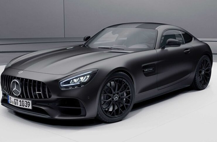 2021 Mercedes-AMG GT Coupe