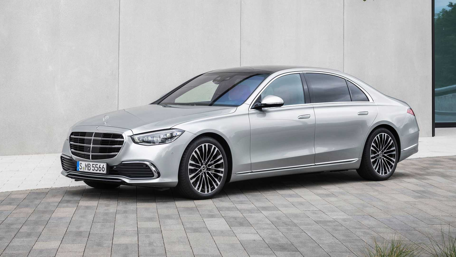2021 Mercedes S-Class revealed: Iconic view, modern ...