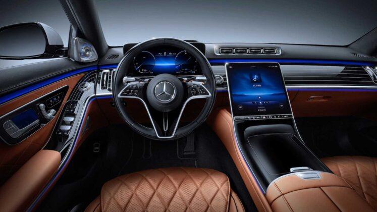 2021 mercedes benz s class interior 2