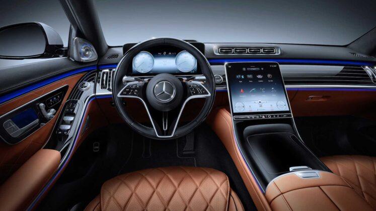2021 mercedes benz s class interior 3